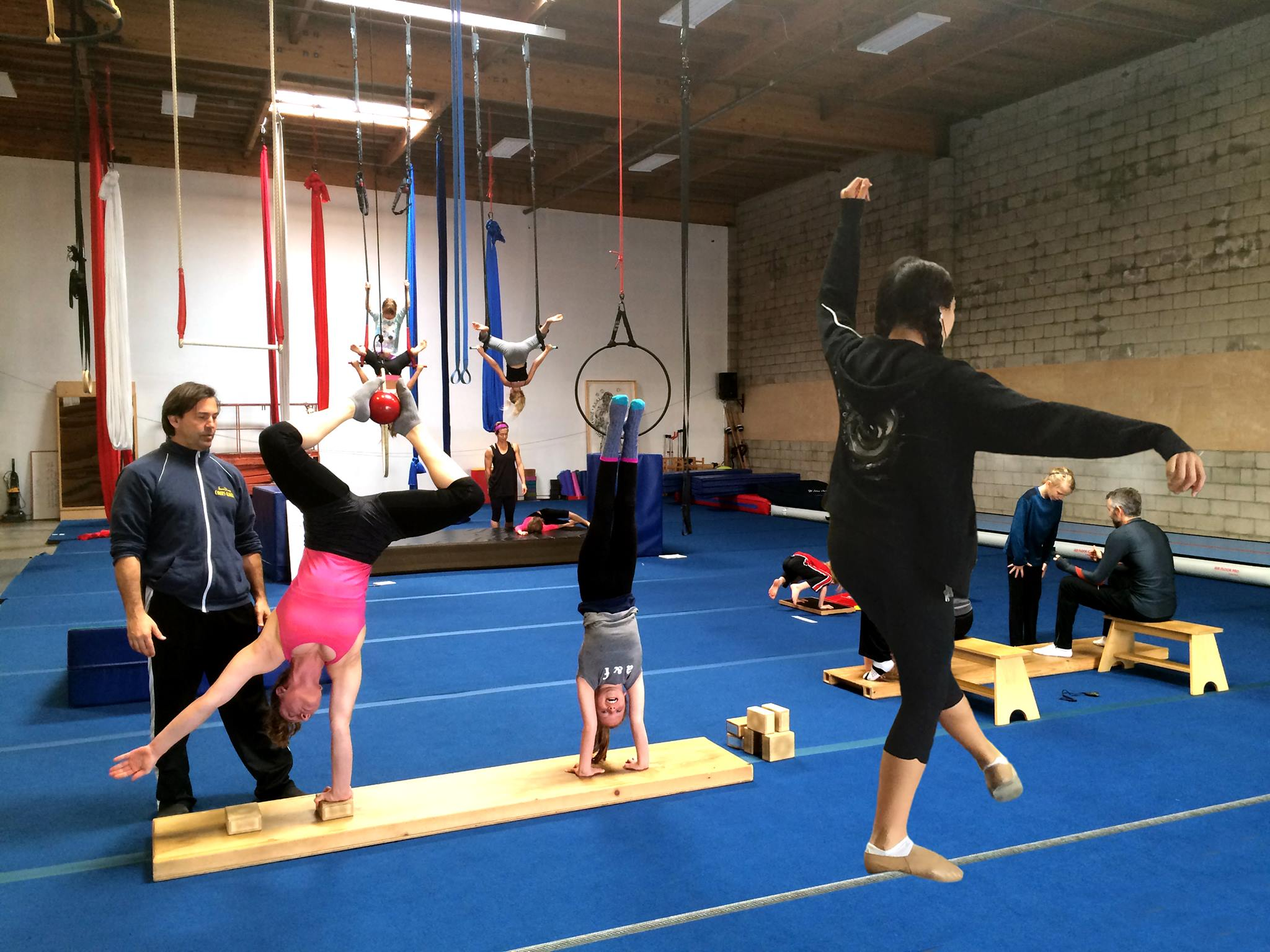 Circus Center Group Trainin